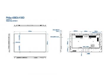 Информационная видеопанель Ultra HD PHILIPS 65BDL4150D/00