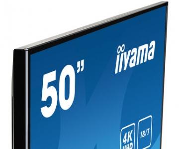 Профессиональная видеопанель матовая UltraHD iiyama LE5040UHS-B1