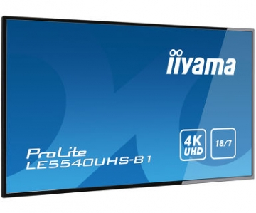 Профессиональная видеопанель матовая UltraHD iiyama LE5540UHS-B1
