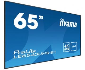 Профессиональная видеопанель матовая UltraHD iiyama LE6540UHS-B1