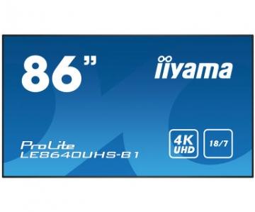Профессиональная видеопанель матовая UltraHD iiyama LE8640UHS-B1