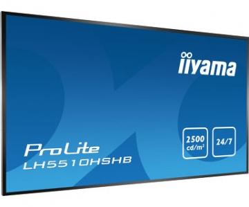 Профессиональная ультраяркая матовая инфопанель iiyama LH5510HSHB-B1