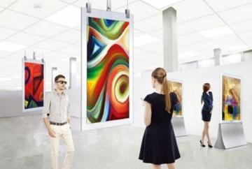Двусторонняя рекламная видеопанель LG 55EG5SD, OLED