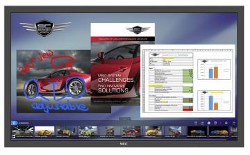 Интерактивная панель NEC P484 SST
