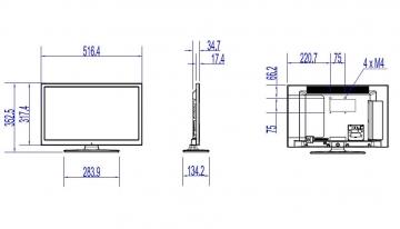 Телевизор Philips 24HFL2869T/12
