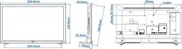 Телевизор Philips 24HFL3011T/12
