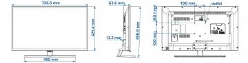 Телевизор Philips 32HFL5010T/12