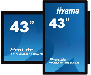 Сенсорная встраиваемая панель iiyama TF4338MSC-B2AG