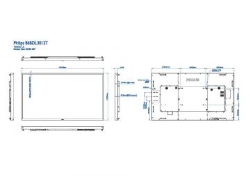 Сенсорная панель PHILIPS 86BDL3012T/00