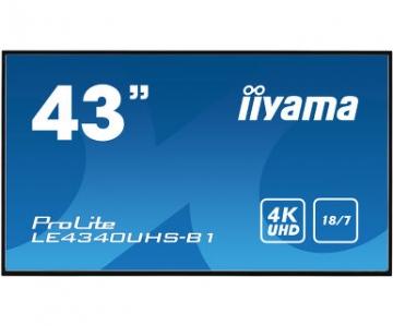 Профессиональная видеопанель матовая UltraHD iiyama LE4340UHS-B1