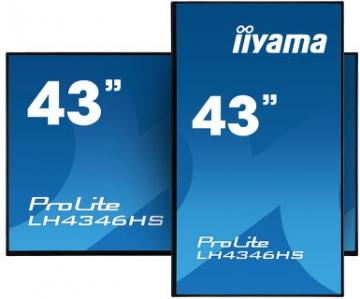 Профессиональная матовая видеопанель  iiyama LH4346HS-B1