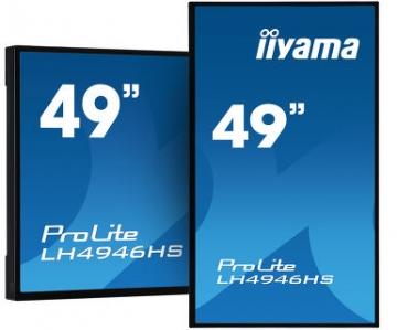 Профессиональная матовая видеопанель  iiyama LH4946HS-B1