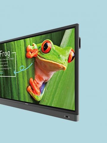 Сенсорная видеопанель с интегрированным ПО BENQ RM7501K