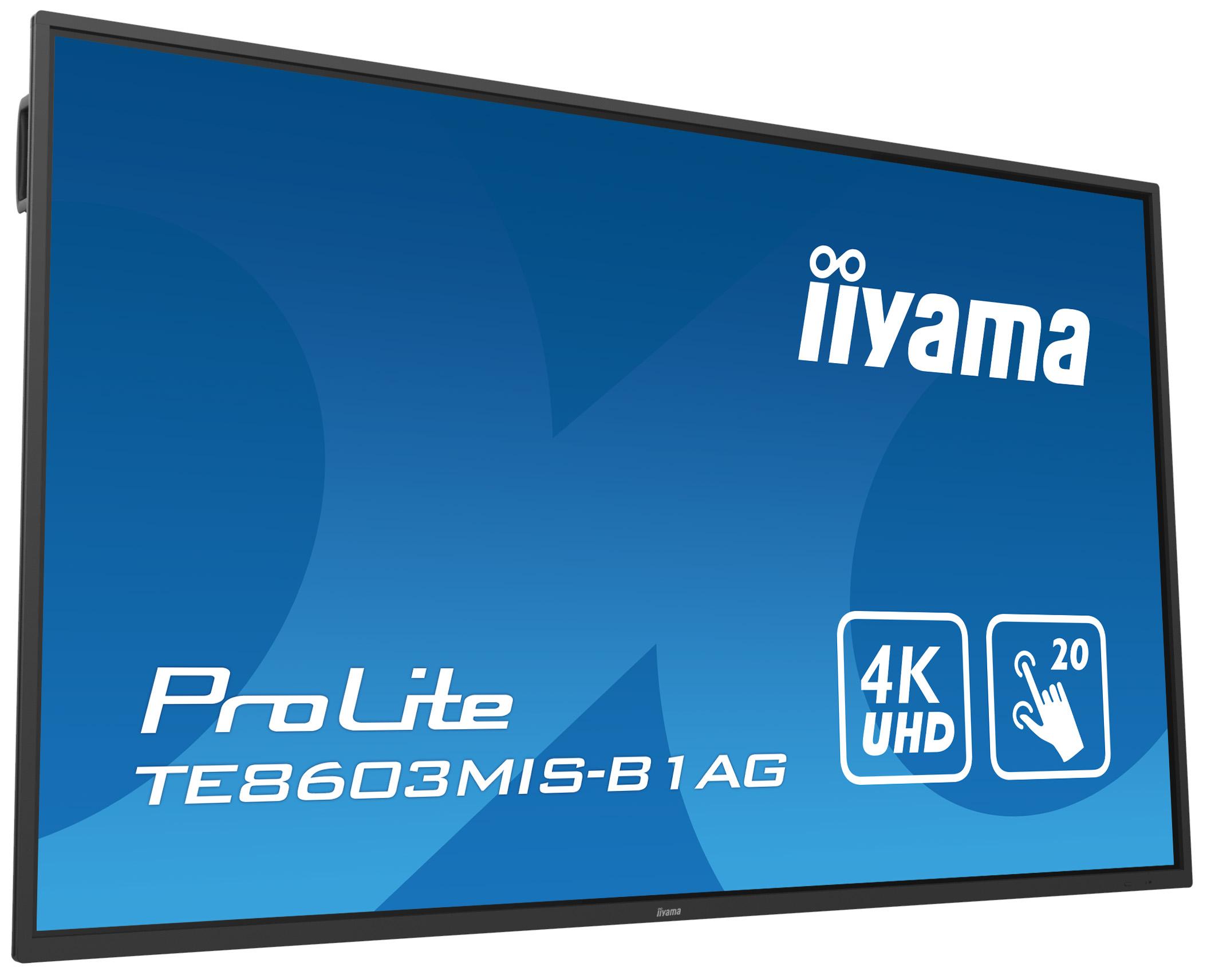 Сенсорная панель с интегрированным ПО iiyama TE8603MIS-B1AG