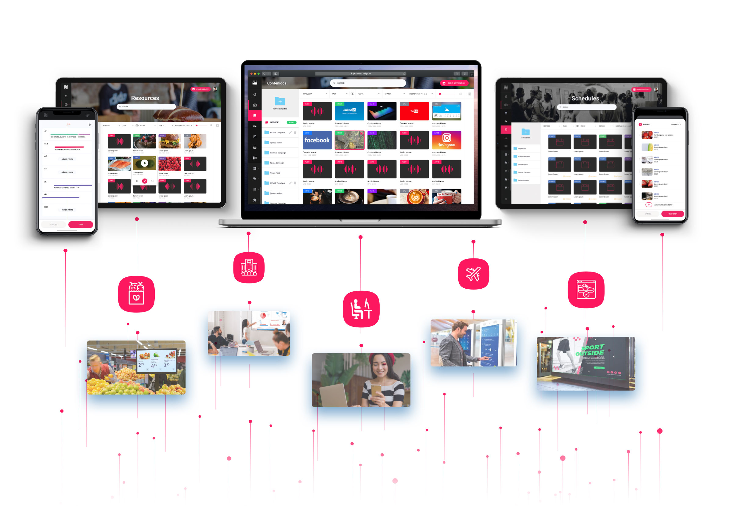 Iiyama Nsign.tv решение Digital Signage