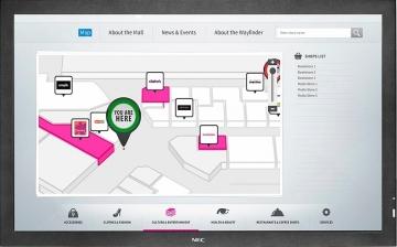 Интерактивная панель NEC P703 SST