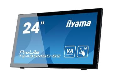 Монитор iiyama T2435MSC-B2 с вебкамерой