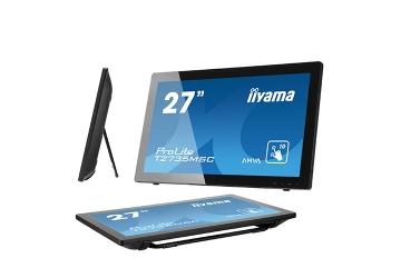Монитор iiyama T2735MSC-B2 с вебкамерой