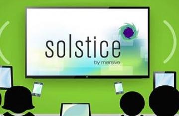 Solstice Display Software - программное обеспечение для видео совещаний.