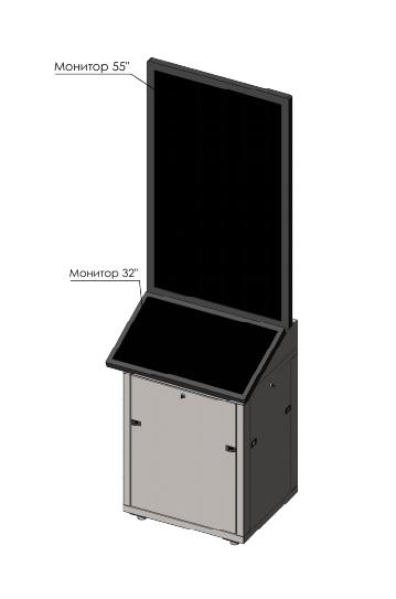 Стойка модульная в сборе VS-DG-SS5532