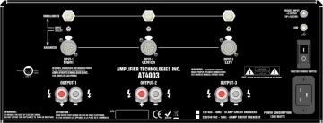 Усилитель ATI AT 4003